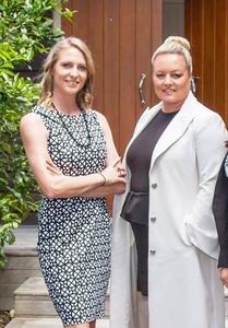 Belinda Sammons and Kylie Pullen