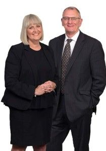 Lesley Grant and Steve Andrews
